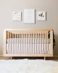 Natural Wood Convertible Crib by Crib Natural Wood Prince Furniture