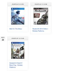 amazon black friday lightning deals times amazon black friday deals neogaf