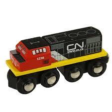 bigjigs wooden railway cn engine train 6 99 wooden toys