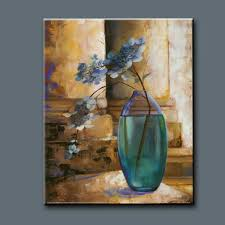 Glass Vase Painting Still Life Glass Painting Pictures Flower Vase Painting On Canvas