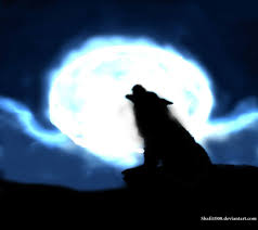 wolf howling at the moon by shafi1000 on deviantart