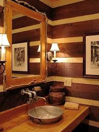 Log Home Bathroom Ideas Colors 26 Best Log Cabin Bathroom Ideas Images On Pinterest Bathroom