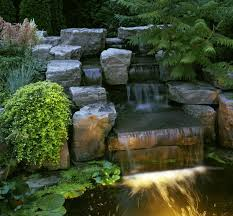 Backyard Waterfalls Ideas Landscape Waterfall Amazing Home Interior Design Ideas By Jimmy