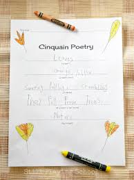 Kids Halloween Poem Cinquain Poetry For Kids Still Playing