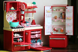 Red Kitchen Set - kitchen best our generation kitchen ideas 18 doll kitchen set