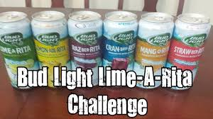 Bud Light Margaritas Bud Light Lime A Rita Challenge Vomit Alert Youtube