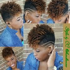 short natural undercut black women short cuts pinterest