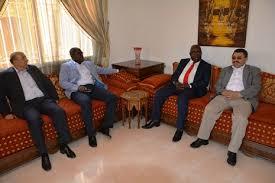 chambre de commerce maroc le ministre d etat mathieu mboumba nziengui rencontre le président