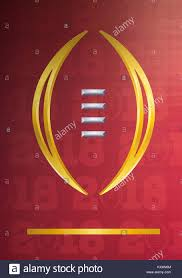 january 08 2018 a general view of logo prior to college football