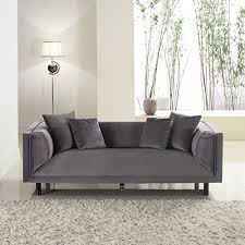 Grey Velvet Sofa by Grey Velvet Sofa Amazon Com