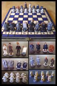 Dr Who Bedroom Doctor Who Chess Set By Eldalinskywalker On Deviantart