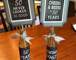 50th Birthday Centerpieces For Men by Birthday Centerpiece Etsy