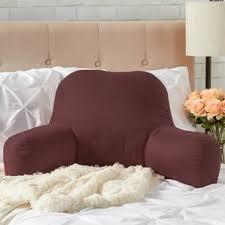 Armchair Pillow For Bed Backrest Pillows You U0027ll Love Wayfair