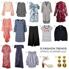 these are the 2017 spring summer trends you u0027ll want in your wardrobe