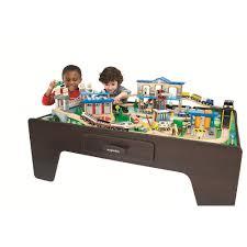 imaginarium metro line train table amazon amazon com imaginarium city central train table toys games