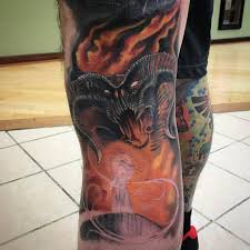 lord of the rings by chad pelland tattoos