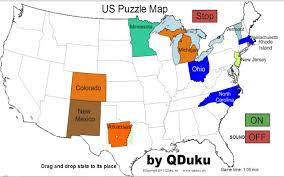 us map quiz puzzle blank printable united states map maps us with puzzle quiz