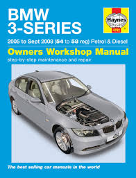 bmw 3 series petrol u0026 diesel 05 sept 08 haynes repair manual