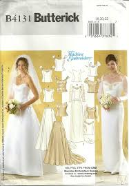 wedding dress sewing patterns patterns butterick 4131 bridesmaid corset wedding