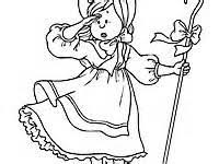 bo peep colouring pages 2 sketch template conkers bad fur
