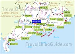 world map major cities guangdong maps city attraction river