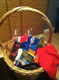 build a gift basket staycation basket idea for a gift or charity auction or