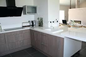 plan de travail cuisine blanc laqué cuisine blanc laque plan de travail gris cethosia me