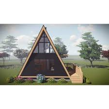 a frame kits greenterrahomes prefab home kit a frame 2br1ba 432sf 144sf loft 18x24