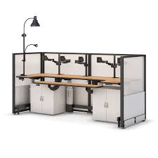multi tiered computer desk electronically height adjustable multi monitor desk afcindustries com