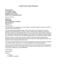 Legal Cover Letter Format Cover Letter Document Format
