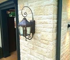 Wall Sconce Installation 13 Best More Outdoor Sconces Installed By Dallas Landscape