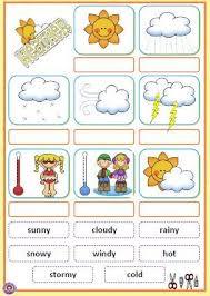 Kindergarten Weather Worksheets Best 25 Weather Ideas On Weather 1 Weather