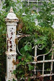 trellis garden gate home outdoor decoration