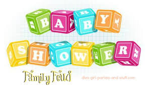 baby shower family feud