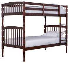 Dream On Me Julia In Twin Over Twin Bunk Bed Mahogany Bunk - Dreams bunk beds