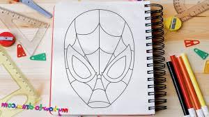 easy spiderman drawing draw spiderman easy step step