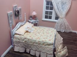 furniture miniature 1 12 scale shabby chic or country style bed