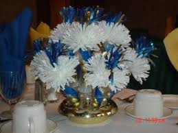 centerpieces for class reunions 12 best decorating for royal blue and yellow gold class reunion