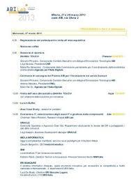 sede abi 27 e 28 marzo 2013 sede abi via olona 2 programma in fase