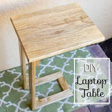 Diy Laptop Desk Diy Laptop Table Pinteres