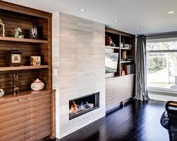 Built In Bookshelves Around Fireplace by Built In Cabinets Around Fireplace Houzz