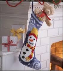 knitting pattern for christmas stocking free mary maxim free snowman stocking knit pattern