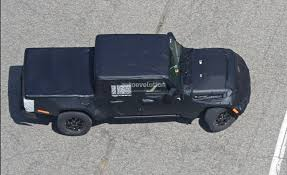 jeep prototype truck 2019 jeep wrangler pickup truck spied prototype tries to hide its