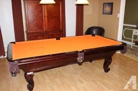 pool table felt for sale obo 8 ft united billiards slate pool table for sale in memphis