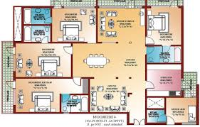 Four Bedroom House Plans Markcastroco - Four bedroom house design