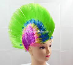 fashion new yellow short mohawk wig sale festival pub fancy