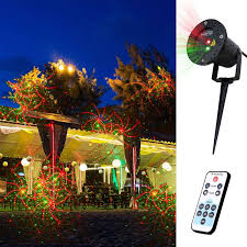Landscape Laser Light Lights Changing Patterns Decolighting Aluminum Alloy