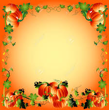 pumpikin frame autumn athmosphere illustration stock photo