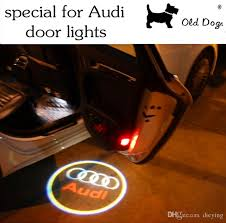2018 led the door lighting for audi welcome lights ghost shadow
