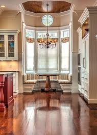 Built In Window Bench Seat Chic Inspiration Kitchen Nook Bay Window Breakfast Built In But On